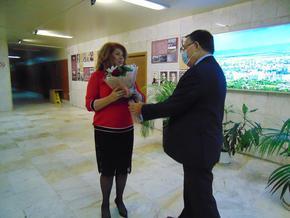 Кметът Христов разговаря с вицепрезидента Йотова