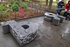 Български букви-пейки украсиха Брюксел