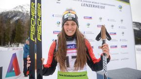 За пръв път Милена Тодорова влезе в топ 10 на Световната купа по биатлон