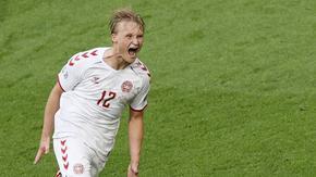 Неочакван герой вдъхнови Дания за разгром и поход към четвъртфинала на Евро 2020