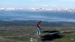 Германците, които ходят във въздуха: рекордът от Лапландия