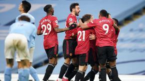"""Вдъхновеният """"Юнайтед"""" предизвика """"Сити"""" и спря серията му"""