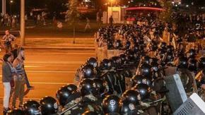 В Минск стрелят по протест с гумени куршуми след прогноза за 80% за Лукашенко