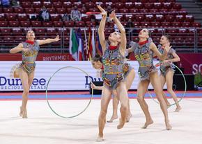 Българският ансамбъл завърши с три титли на Световната купа в София