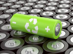 Рециклират батерии с портокалови кори