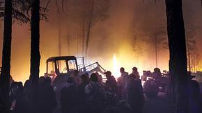 Североизточен Сибир обхванат в пламъци, 187 пожара в горят в Якутия