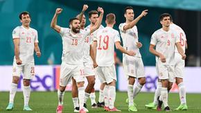 Испания е първият полуфиналист на Евро 2020, отсранявайки Швейцария с дузпи