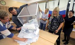 """""""Единна Русия"""" печели 38,57% на парламентарния вот"""