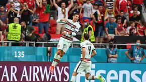Късни голове и рекордьорът Роналдо дадоха успешен старт на европейския шампион