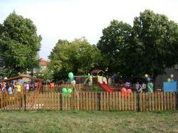 """И кв. """"Виница"""" във Велики  Преслав вече си има детска площадка"""