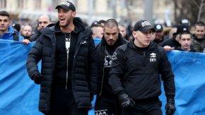 """Ултраси на """"Левски"""" са задържани за побоя над Слави Ангелов"""