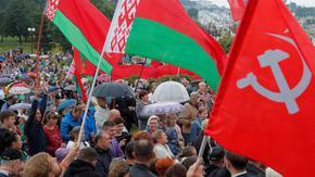 """Лукашенко блокира медии и обвини НАТО, че """"ще довлече алтернативен президент"""""""