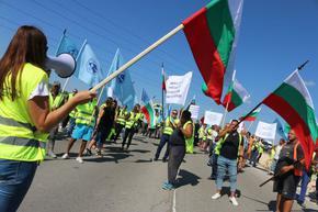 """""""Автомагистрали – Черно море"""" в готовност за ежедневни протести с блокиране на пътища"""