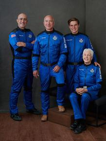 И Джеф Безос се отправя днес към Космоса на собствена ракета