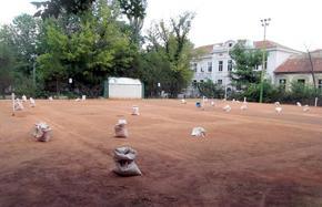 """Клуб """"Шуменец"""" пое стопанисването на общинската тенис база, започна и ремонтите"""