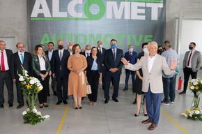 """Алкомет"" откри нов цех за алуминиеви профили за електромобили"