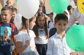 В Шуменско 1 309 деца прекрачиха училищния праг за първи път