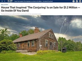 """Продават къщата, вдъхновила филма на ужасите """"Заклинанието"""", за 1,2 млн. долара"""