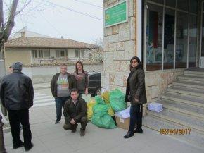Над 70 фиданки раздадаха от ДГС - Смядово на деца, предали 800 кг. хартия