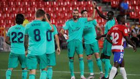 """Реал"" (Мадрид) вече е на победа от титлата след девети пореден успех"