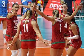 Волейболистките взеха трета победа на европейското първенство