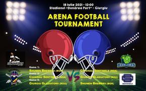 Шуменският отбор по американски футбол с първо международно участие тази неделя