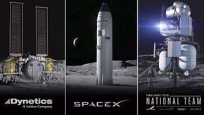 НАСА възложи на 3 компании да изработят спускаем апарат за Луната