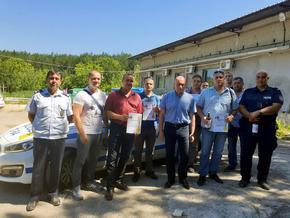 Полицаите от Велики Преслав спечелиха турнир по стрелба, организиран от Областната дирекция на МВР