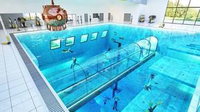 """""""Детска градина за водолази"""": най-дълбокият басейн в света отвори в Полша"""