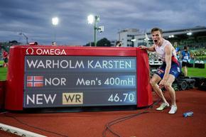 Машината от Улстайнвик счупи 29-годишен рекорд в атлетиката