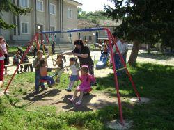 В село Кочово откриха детска площадка