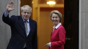 Среща на Джонсън и Фон дер Лайен може да тласне напред блокиралите преговори за Брекзит