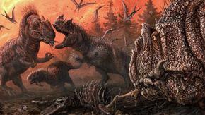 """""""Перфектна буря"""" е причинила смъртта на динозаврите"""