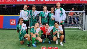 Българките станаха четвърти на европейско по футбол за хора в неравностойно положение
