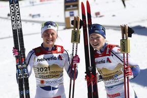 Шведска скиорка със забрана да целува любимия си американец