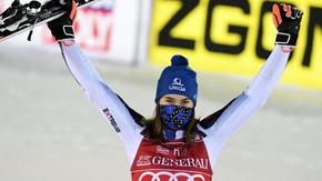 Влъхова взе трета поредна победа в алпийските ски