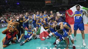 Италия сломи Словения и триумфира на Евроволей