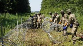 Литва ще получи още помощ от Фронтекс, мигрантите от Беларус станаха основно африкански