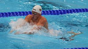 Плувецът Любомир Епитропов отпадна в полуфиналите на 200 метра бруст