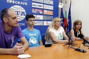 Шумен е домакин на националния отбор за Европейското по информатика