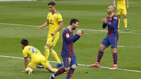 """Меси записа рекорд, но """"Барселона"""" сбърка срещу новак"""