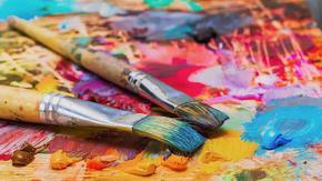 Най-голямото художествено платно ще бъде предложено на благотворителен търг в Дубай