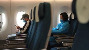 Въздушният трафик в Европа се е върнал 25 години назад