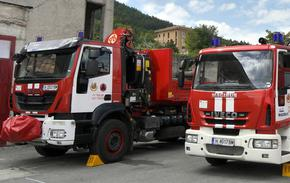 Два пожара гасиха вчера в Шуменско