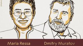 Журналисти получиха Нобела за мир за битката за свободата на словото в Русия и Филипините
