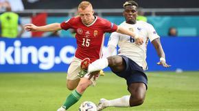 Унгария взе точка срещу Франция с вдъхновена игра