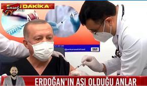 Ердоган си постави китайската ваксина срещу COVID-19