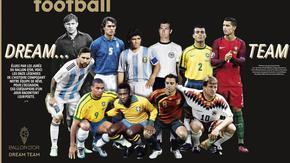 """Зидан и Кройф останаха извън идеалния отбор на """"Франс футбол"""""""