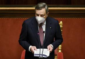 Италианският премиер се имунизира с ваксината на AstraZeneca