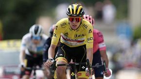 Погачар показа леко пропукване, но не загуби време в Тур дьо Франс